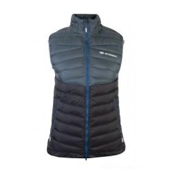 Sir Joseph Atol Lady Vest dark grey/black dámská lehká péřová zimní vesta
