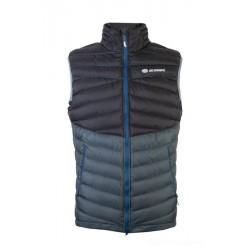 Sir Joseph Atol Man Vest black/dark grey pánská lehká péřová zimní vesta
