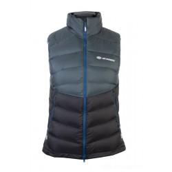 Sir Joseph Safir Lady Vest dark grey/black dámská zimní péřová vesta