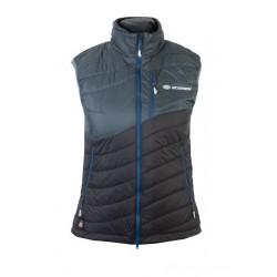 Sir Joseph Heron Vest Lady dark grey/black dámská zimní vesta Alpská vlna