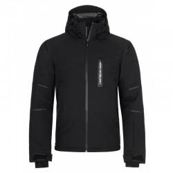 Kilpi Turnau-M černá pánská nepromokavá zimní lyžařská bunda 20000