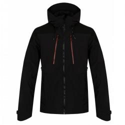 Husky Sevan M černá pánská softshellová bunda