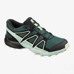 Salomon Speedcross J Green gables/Icy Morn/Patina 409588 dětské běžecké boty do terénu