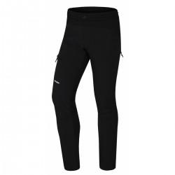 Husky Kix M černá pánské outdoorové zateplené kalhoty na běh,kolo,běžky 10000