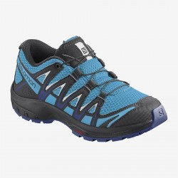 Salomon XA Pro 3D J ethereal blue/surf the web/white dětské nízké prodyšné boty