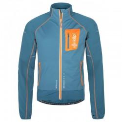 Kilpi Nordim-M modrá pánská větruodolná bunda  na běh,na kolo nebo běžky