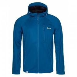 Kilpi Enys-M tmavě modrá pánská lehká softshellová bunda Siberium 10000 SRC HS