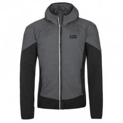 Kilpi Gares-M tmavě šedá pánská lehká zateplená outdoorová bunda/mikina Primaloft