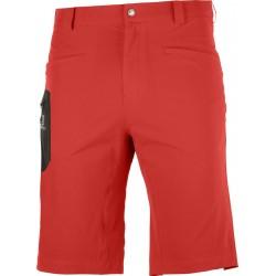 Salomon Wayfarer Shorts M goji berry C14898 pánské lehké softshellové kraťasy