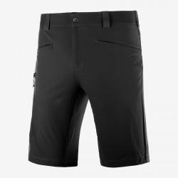 Salomon Wayfarer Shorts M black C14895 pánské lehké softshellové kraťasy