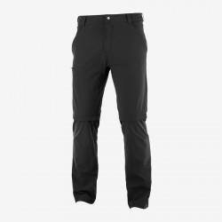 Salomon Wayfarer Zip Off Pants M black C15037 pánské odepínací turistické kalhot