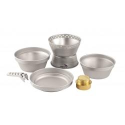 Easy Camp Storm Cooker vařič na tekutý líh se sadou hliníkového nádobí
