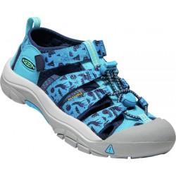 Keen Newport H2 Tots vivid blue katydid dětské outdoorové sandály i do vody