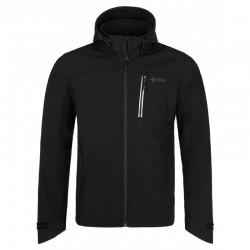 Kilpi Ravio-M černá pánská softshellová bunda Siberium SRC SS 10000