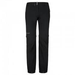 Kilpi Hosio-W černá dámské odepínací lehké turistické kalhoty