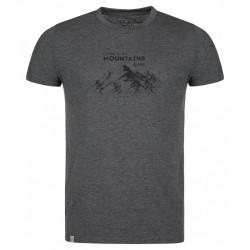 Kilpi Garove-M tmavě šedá pánské triko krátký rukáv