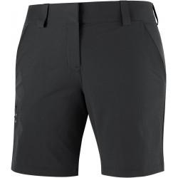 Salomon Wayfarer Shorts W black C14912 dámské lehké softshellové kraťasy