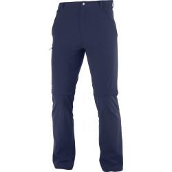 Salomon Wayfarer Zip Off Pants M night sky C15038 pánské odepínací turistické kalhoty