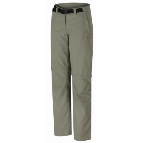 Hannah Pirrey vetiver dámské lehké odepínací turistické outdoorové kalhoty
