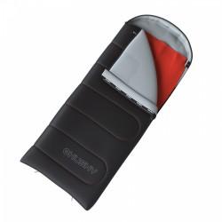 Husky Guty -10°C šedá třísezónní dekový spací pytel s odnímatelnou fleecovou vložkou